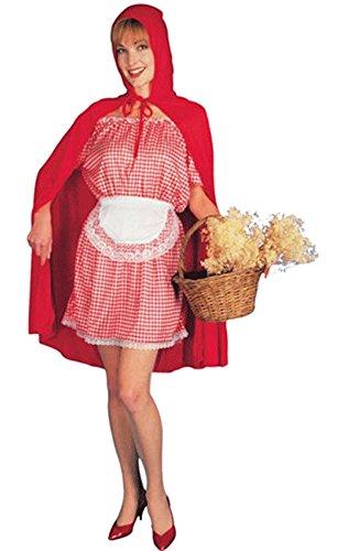 fyasa 892841-txl Little Riding Hood Kostüm, rot, (Little Kostüme Riding Kapuze Red Kind)