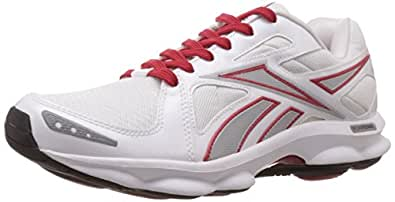 Reebok Classics Men's Runtone Doheny 2.0 Lp White and Silver Running Shoes - 11 UK