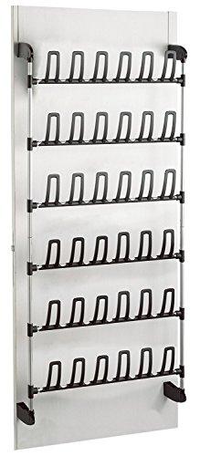 Compactor für 18 Paar Aufbewahrung und Ordnungssysteme, Metall, PVC, one Size