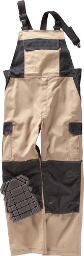 Beb Latzhose CANVAS - khaki/schwarz - Größe: 56
