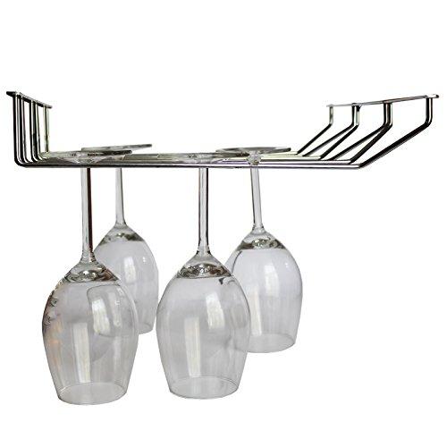 Weinglashalter - Weinglas Halterung / Wein Glas Aufhänger für die Küche, Bar oder Restaurant -...