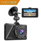 AKASO Full HD 1080P Dashcam Autokamera mit 3 Zoll LCD Bildshirm