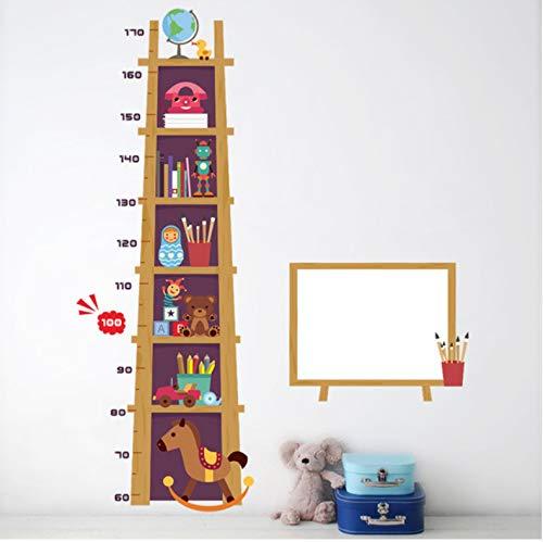 Yirenfeng Kinder Höhe Maßnahme Wandaufkleber Für Kinderzimmer 3D Wirkung Schrank Wachstum Diagramm Whiteboard Wandtattoos Kunst Poster Wandbild