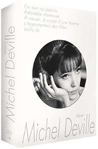 Coffret Michel Deville, vol. 1 (Ce soir ou jamais / Adorable menteuse / A cause, à cause d'une femme / L'Appartement des filles / Lucky Jo)