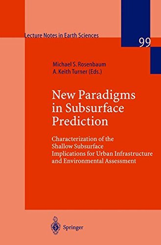 Subsurface Conditions (Lecture Notes in Earth Sciences) (2008-06-13)