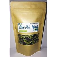 Té de hierbas azul tailandés de la flor del guisante de mariposa - 100g (Blue Pea)