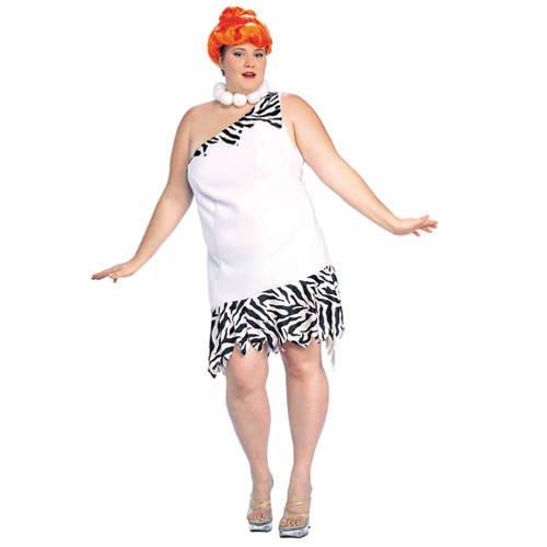 Wilma Feuerstein Kostüm Schuhe - Damen-Kostüm Wilma Feuerstein, Gr. 46
