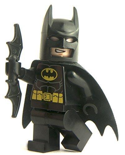 Preisvergleich Produktbild ECHT Lego DC Comics SCHWARZ BATMAN Minifigur (von 76013 set) - SH016a