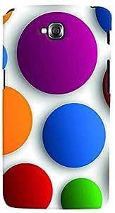 PrintVisa 3D-LGGPROLITE-D7947 Pattern Abstract Circle Case Cover for LG G Pro Lite
