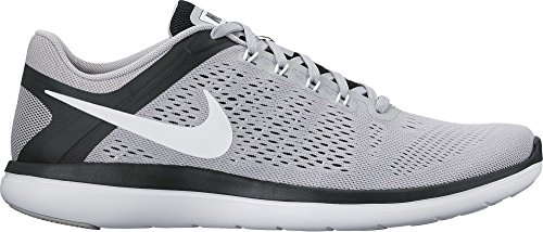 Nike Flex 2016 Rn, chaussures de course homme Gris