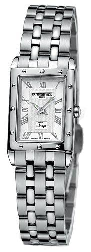 Raymond Weil 5971-ST-00658 - Reloj para mujeres, correa de acero inoxidable color gris
