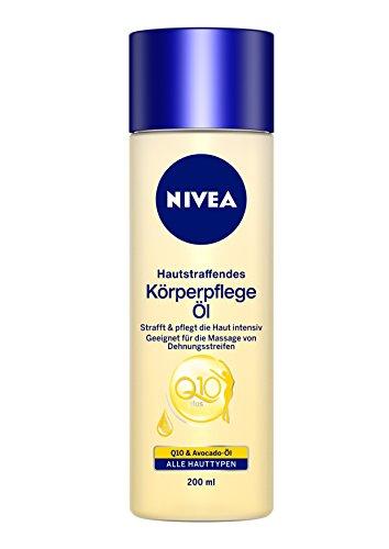 Nivea Hautstraffendes Körperpflege Öl Q10 Plus, 1er Pack (1 x 200 ml)