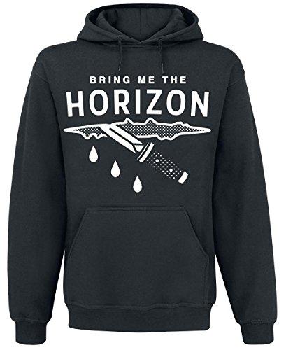 Bring Me The Horizon Wound Felpa con cappuccio nero S