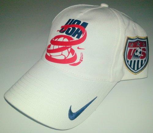 Chapeau ajustable de base de coupe du monde 2010 de Nike US blanc 2010Nike Maillot de bain d¨¦bardeur d¨¦coup¨¦ Starglass pour femme (36, Energy)