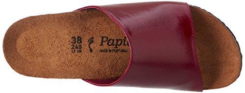 Papillio Damen Amber Textil Pantoletten Rot (Glossy Raspberry)