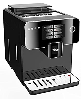 BERG Toccare Uno Pro Series One Touch Automatic Bean to Cup Coffee Machine by BERG