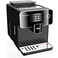 BERG Toccare Uno Pro Series One Touch Automatic Bean to Cup Coffee Machine (Black)