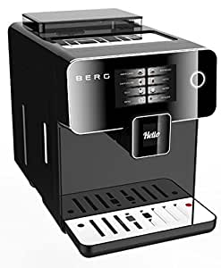 BERG Toccare Uno B Series One Touch Automatic Bean to Cup Coffee Machine (Black)