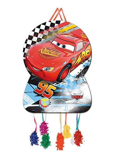 ALMACENESADAN 0871; Piñata Silhouette Disney Cars, Abmessungen 46x65 cm; Kartonprodukt