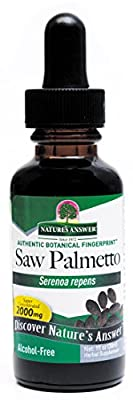 Nature's Answer Saw Palmetto Berries, Alcohol Free, 1 Oz from Nature's Answer