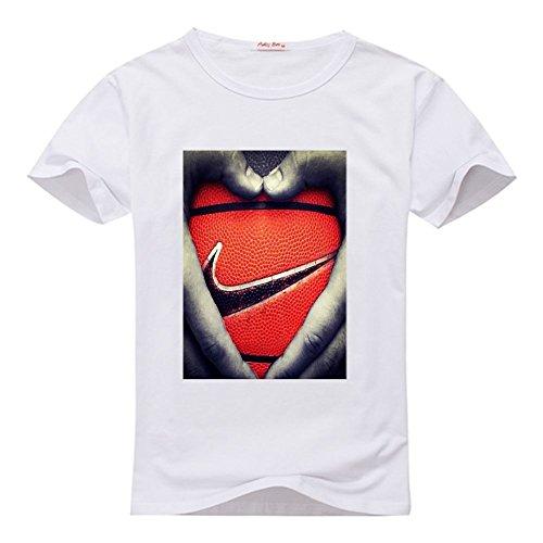 Yilaicustom Personalized DIY Custom Basketball Women's Slim Fit T-shirt (Custom T-shirts Basketball)