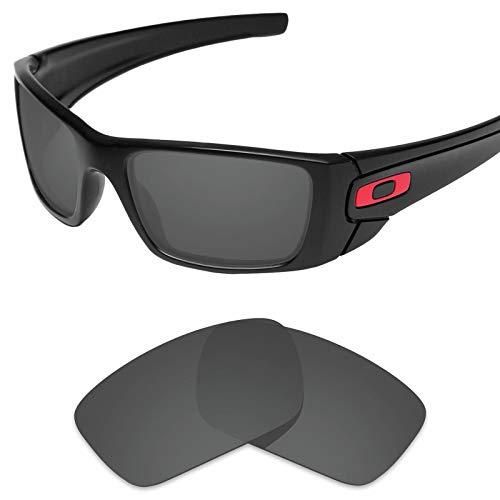 sunglasses restorer Ersatzgläser für Oakley Fuel Cell,Polarisierte Black Iridium Linsen