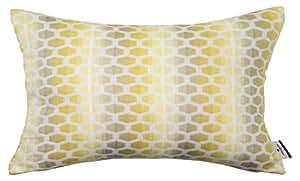 Tom Tailor 564107 T-Charming Housse de Coussin Polyester/Acrylique/Coton Jaune/Beige 50 x 30 x 1 cm