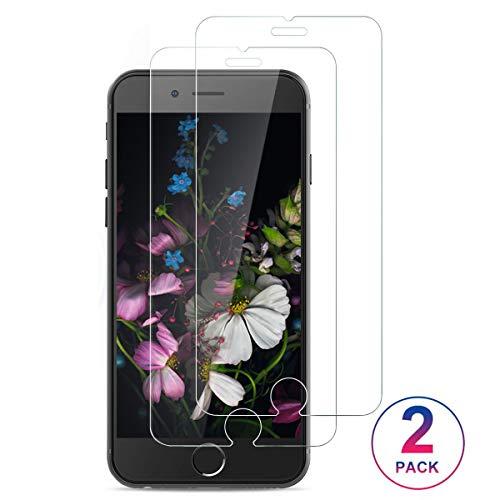 PHDE Panzerglasfolie kompatibel mit iPhone 6/6S,[2 Stück] 9H Panzerglas Displayschutzfolie für iPhone 6S,Super Langlebig,HD Klar Tempered Schutzfolie für iPhone 6S/6 Glasfolie - Ultra Clear