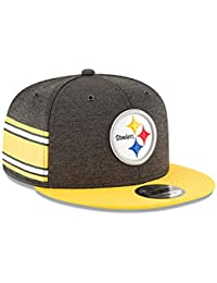 New Era Pittsburgh Steelers On Field 18 Sideline Home Snapback Cap 9fifty  950 S M f3ecf5a4d770