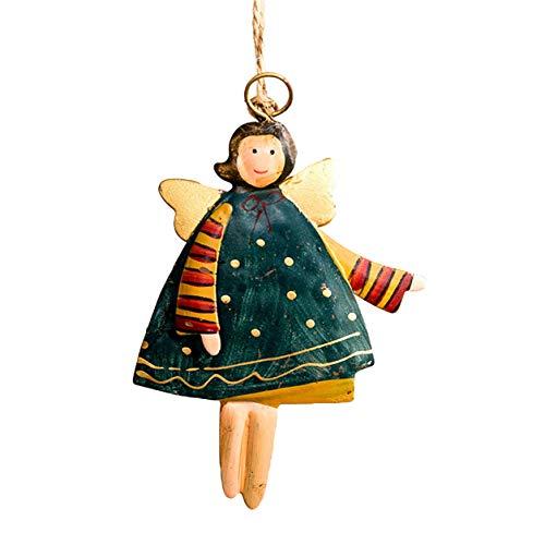 Weihnachtsbaumschmuck Weihnachtsdekor Geschenke Eisen Anhänger Baum Ornament Fashion Party Home Hanging Decor Auto Anhänger ()