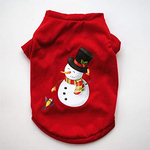 BAONUAN Haustier Kleidung XS/S/M/L Hund Kleidung Weihnachten Kostüm Cute Cartoon Kleidung Für Kleine Hund Tuch Kostüm Kleid Xmas Bekleidung Für Kitty Dogs, XS
