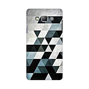 Mobicture Abstract Design Designer Printed Hard Case Cover - [Hard Poly Carbonate] [Slim-fit] [Shock-Proof] Back Cover for Samsung On 7