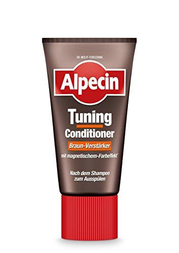 Alpecin Tuning Conditioner Braun-Verstärker, 1 x 150 ml - Farb-Tuning als Spülung nach der täglichen Haarwäsche (Männer Färben Haare Für Braune)