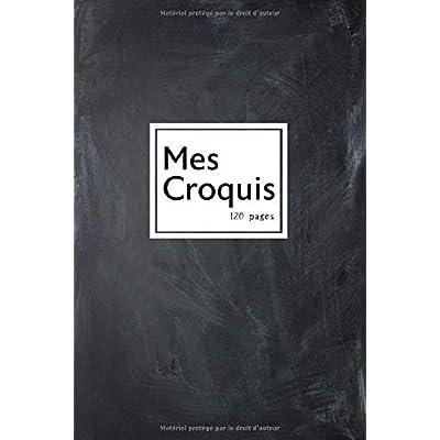Mes Croquis: Un carnet relié pour les passionnés du croquis