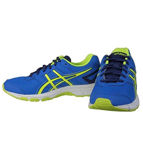 Asics Gel-galaxy 8 Gs, Chaussures de Running Entrainement Mixte adulte Bleu (electric blue/flash yellow/indigo 3907)