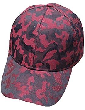 Unisex De La Moda De Camuflaje Deportes Gorra De Béisbol Casquillo Respirable Peaked Multicolor