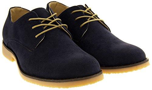Classics Hommes Zapatos de Gamuza de Imitación Bleu Marine