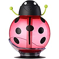 LUFA 260ml Beetle USB LED Humidificador Luz Difusor Aroma Difusor de aceite esencial Mist Maker