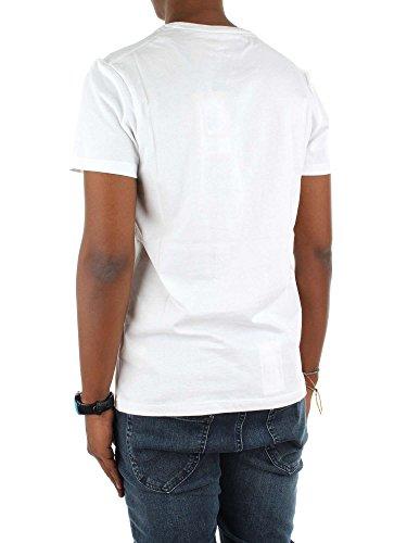 Wrangler Herren T-Shirt Weiß