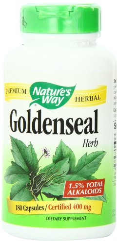 Natures Way Goldenseal, Herb 180 Caps