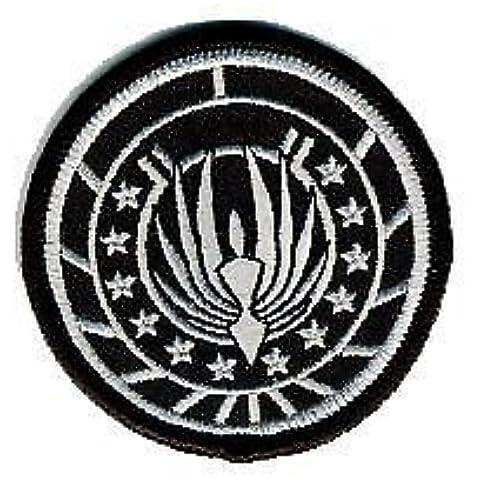 Battlestar Galactica Razor Marines Insignia Parche 6,5cm para coser o planchar