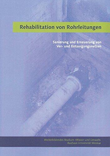 Rehabilitation von Rohrleitungen: Sanierung und Erneuerung von Ver- und Entsorgungsnetzen (Weiterbildendes Studium »Wasser und Umwelt«)