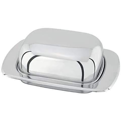 Judge Domed Butter Dish, Silver