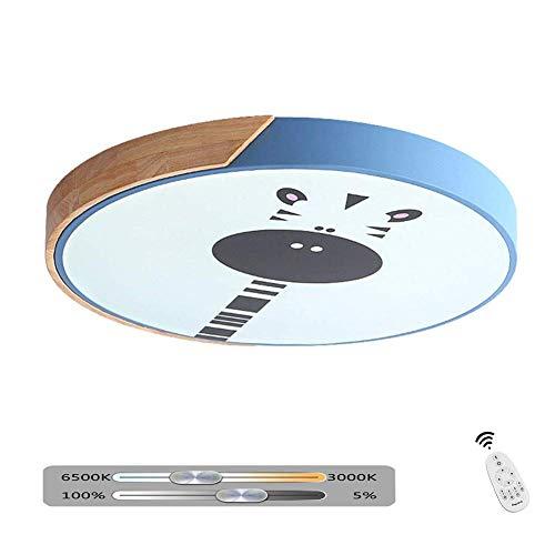 Moderne LED-Deckenleuchte Dimmbare Deckenleuchte Designleuchte Braun Gebürstetes Aluminium und Acryl Wohnzimmer Schlafzimmer Küche Innenbeleuchtung Dekoration mit Fernbedienung, Ø40CM -