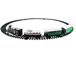 Battery Operated Musical Train Set With Light And Sound