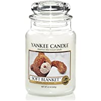 Yankee Candle 1173563E Soft Blanket Jar Candle, Large