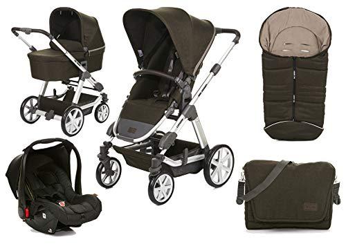 ABC Design Condor 4 Kinderwagen 3 in 1 Set (Inkl. Hazel, Wickeltasche und Fußsack)