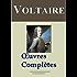 Voltaire : Oeuvres complètes - 109 titres et annexes - édition enrichie - Arvensa éditions