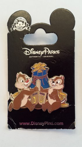 2013 Chip & Dale Hanukkah Dreidel Holiday Disney Pin Trading Collectible Lapel Pin by WD-40 -