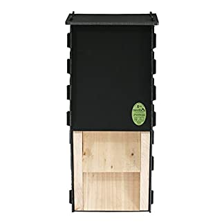 Nestbox Co Eco Kent Bat Box - Ideal for Common and Soprano Pipistrelles Nestbox Co Eco Kent Bat Box – Ideal for Common and Soprano Pipistrelles 41qfbh0lDyL